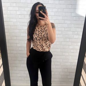 A NEW DAY Leopard Tank Top Blouse